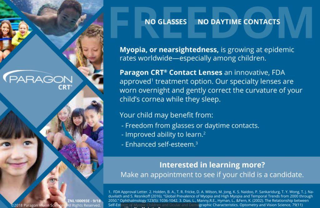 Myopia Control Therapy